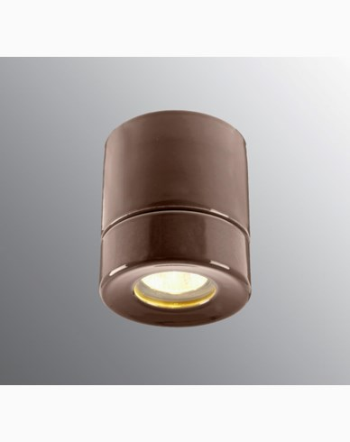 Ifö Electric Light On BASTU Downlight Brun IP44 max 35W GU10. 6057-209-14
