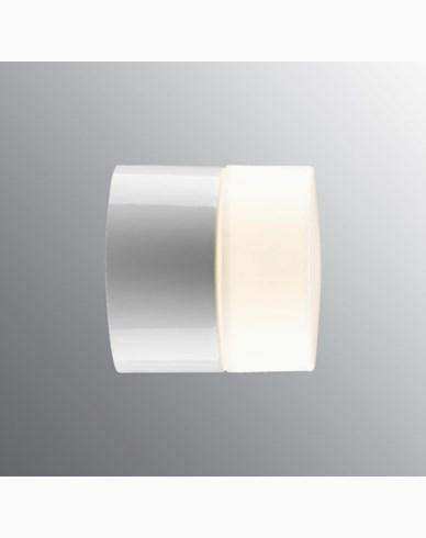 Ifö Electric Opus 100/100 BADSTUE Rett Hvit IP44 G9 maks 25W vegg. 8200-209-10