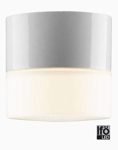 Ifö Electric Opus 100/100 LED 4W/3000K. Vit. 8201-800-10