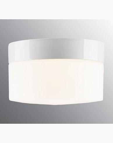 Ifö Electric OPUS Sensor 200/135 Hvit IP44 rett E27 max 20W LED. 8262-506-10