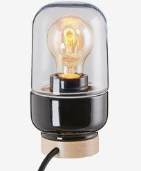 Ifö Electric Ohm Table 100/190 svart IP20 E27 40W 2m. 8312-510-16