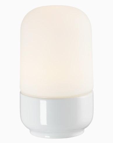 Ifö Electric Ohm 100 H 170 mm hvit matt opal IP44 E27 40W. 8341-500-10