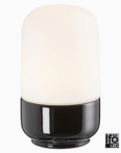 Ifö Electric Ohm svart IP44 LED 8W/3000 800lm Ra>90. 8341-800-16