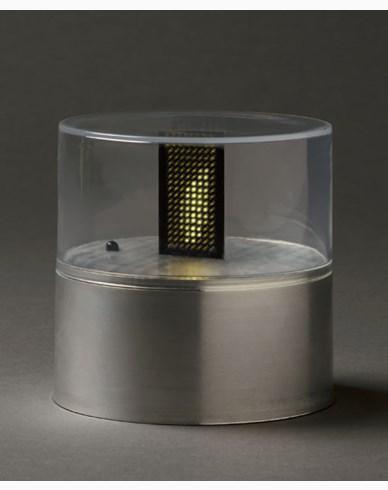 Konstsmide LED Ljusmarschall, silverfärgad 256 LED. 1898-900