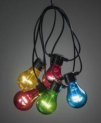 Konstsmide. Startset. Ljusslinga 10 X 0,48W färgade LED. 2396-500