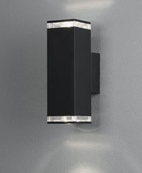 Konstsmide Antares vegglampe. Enkel dekorasjon. Maks 2x7W LED. GU10. 407-750