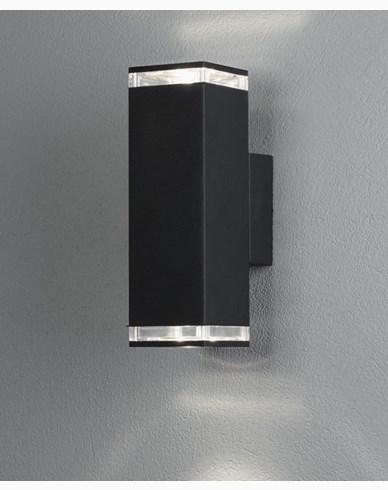 Konstsmide Antares vägglampa. Max 2x7W LED. GU10. 407-750