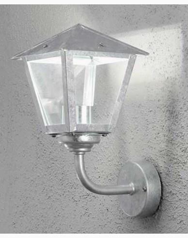 Konstsmide Benu vegglampe, opp 1x5W dimbar LED, galvanisert. 440-320