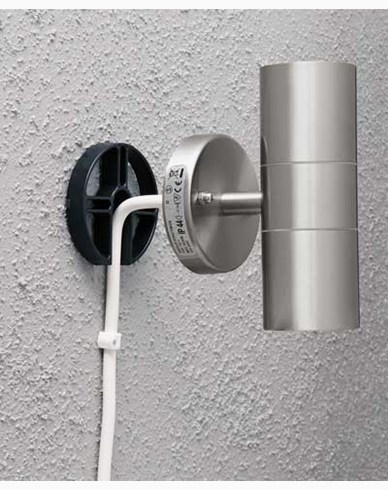 Modena Distansring Svart för utvändig kabeldragning. 449-750