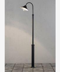 Konstsmide Vega lyktestolpe 8W dimbar LED inkl. stolpe Svart. 563-750