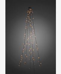 Konstsmide Juletre lysslynge 3m amber LED 24V/IP20. 6362-820