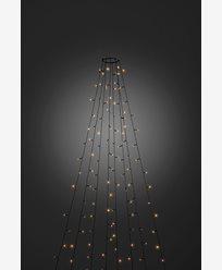 Konstsmide Juletre lysslynge 30x8 LED amber 240cm grønn kabel 24V/IP20. 6365-810