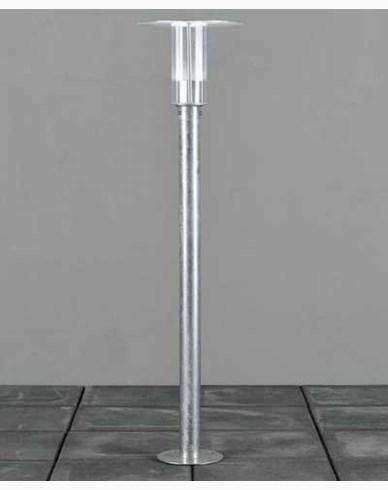 Konstsmide Mode Trädgårdsstolpe dimbar 5W LED 230V galvaniserad inkl stolpe. 702-320
