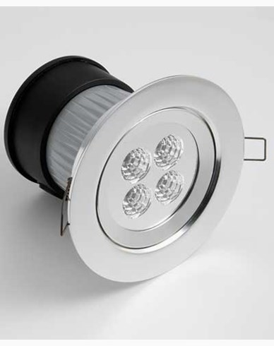Inbyggnadsspot High Power LED 230V IP44. 7097-000