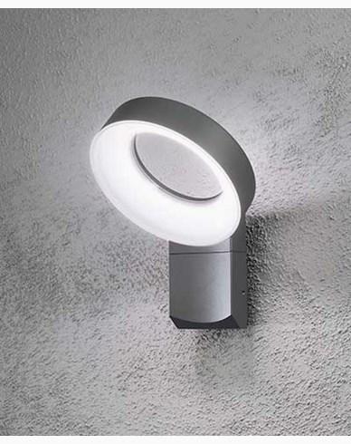 Konstsmide Asti vägglampa High Power LED. Antracitgrå 7273-370