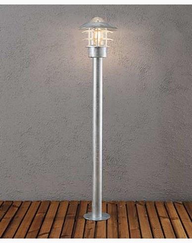 Konstsmide Modena Sokkellampe 98 cm. Galvanisert 7311-320