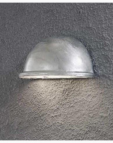 Konstsmide Torino halvmåneplafond liten E14. Galvad 7325-320