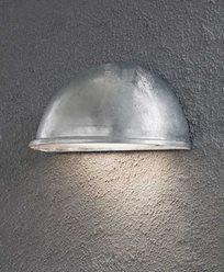 Konstsmide Torino halvmåneplafond stor E27. Galvanisert 7326-320