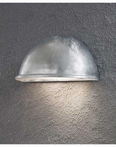 Konstsmide Torino halvmåneplafond stor E27. Galvad 7326-320