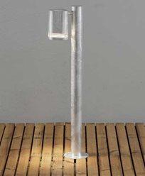 Konstsmide Modena Sokkellampe 70 cm. 7517-320. Galvanisert