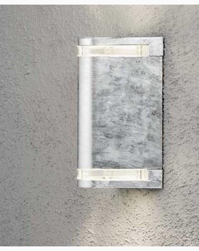 Konstsmide Modena vägglampa upp/ned. 7518-320. Galvaniserad stål