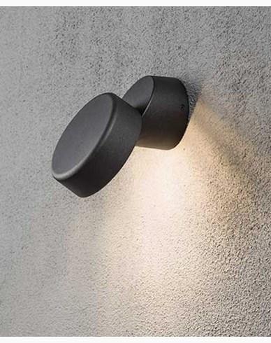 Konstsmide Vicenza vägglykta High Power LED. Svart 7527-750