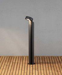 Konstsmide Vicenza trädgårdsstolpe High Power LED 100 cm. Svart 7528-750