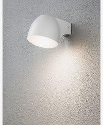 Konstsmide Ferrara vegglampe LED 4W Hvit. 7531-250