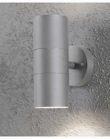Konstsmide Modena vegglampe Opp/ned. 7656-300. Grå