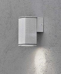 Konstsmide Monza vägglykta aluminium GU10 ned 7908-310