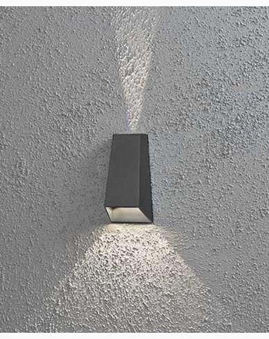 Konstsmide Imola vägglampa High Power LED. Antracitgrå 7911-370