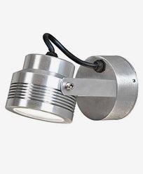 Konstsmide Monza vegglampe 1X6W 230V LED alum 7917-310