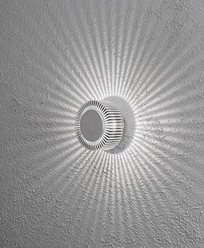 Konstsmide Monza vägglykta rund High Power LED 7932-310