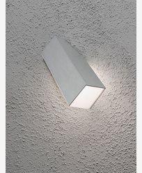 Konstsmide Imola vägglykta 1x3W LED aluminium. 7933-310