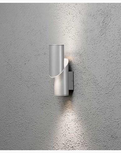Konstsmide Imola vegglampe High Power LED cylinder. Aluminium 7935-310