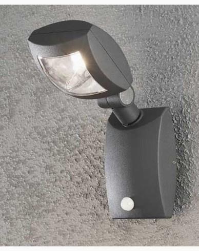 Konstsmide Latina vägglykta 3W 230V LED rörelsevakt 7937-370