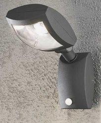 Konstsmide NEW LATINA vägglampa 12W 230V LED rörelsesensor 7938-370