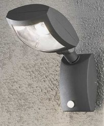 Konstsmide NEW LATINA vegglampe 12W 230V LED bevegelsessensor 7938-370
