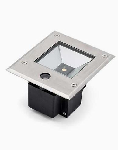 Konstsmide High Power LED 230V bakkespot med skumringssensor 6W. 7952-310