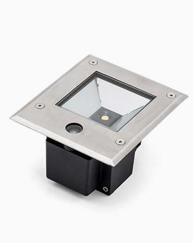 Konstsmide High Power LED 230V markspot med skymningsrelä 9W. 7953-310
