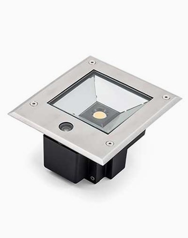 Konstsmide High Power LED 230V bakkespot med skumringssensor 12W. 7954-310