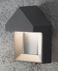 Konstsmide Cosenza vegglampe 1x5W High Power LED grå. 7958-370
