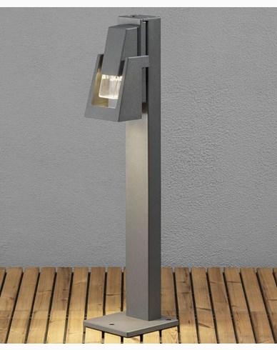 Konstsmide Potenza trädgårdsstolpe GU10 max 6W LED. 7980-370