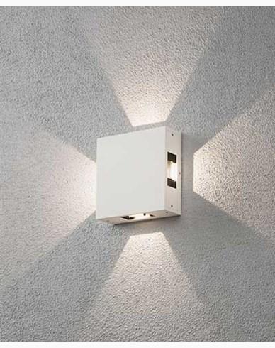 Konstsmide Cremona vägglykta High Power LED. Vit 7984-250