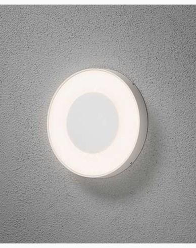 Konstsmide Carrara vägglampa/plafond LED rund dimbar och färgjusterbar. 7985-250