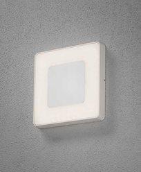 Konstsmide Carrara vegglampe/plafond LED kvadrat dimmbar og fargejusterbar. 7986-250
