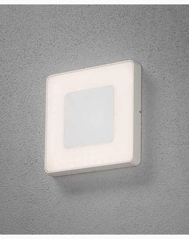 Konstsmide Carrara vägglampa/plafond LED kvadrat dimbar och färgjusterbar. 7986-250