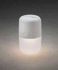 Konstsmide Assisi solar / USB lampa hängande/stående LED, dimbar vit. 7805-202