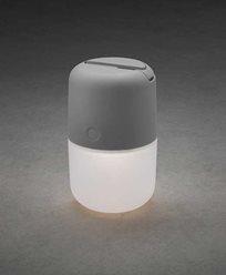 Konstsmide Assisi solar / USB lampe hengende/stående LED, dimbare grå. 7805-302