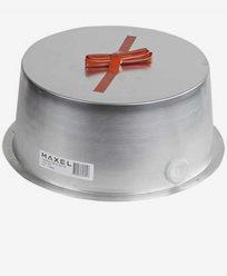 MAXEL Säkerhetsbox 180 aluminium. Höjd 85